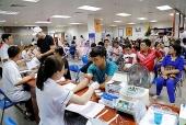 7 ngày kêu gọi đã có hơn 900 đơn vị máu tình nguyện hiến tặng