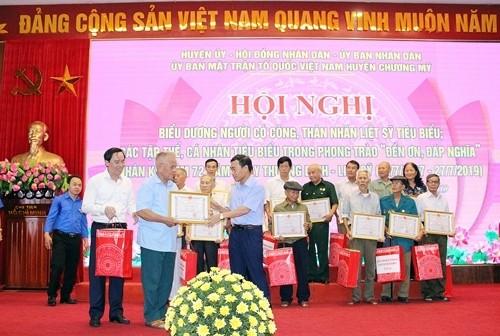Cựu chiến binh tích cực với các hoạt động vì cộng đồng