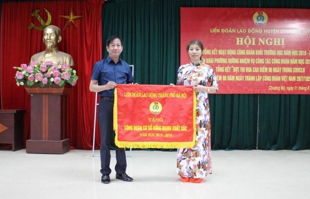 Khen thưởng gần 100 tập thể, cá nhân xuất sắc trong hoạt động Công đoàn trường học
