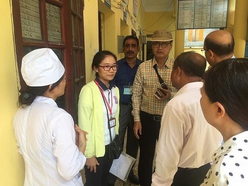 Đoàn cán bộ y tế Bangladesh thăm quan và học tập kinh nghiệm tại Thạch Thất
