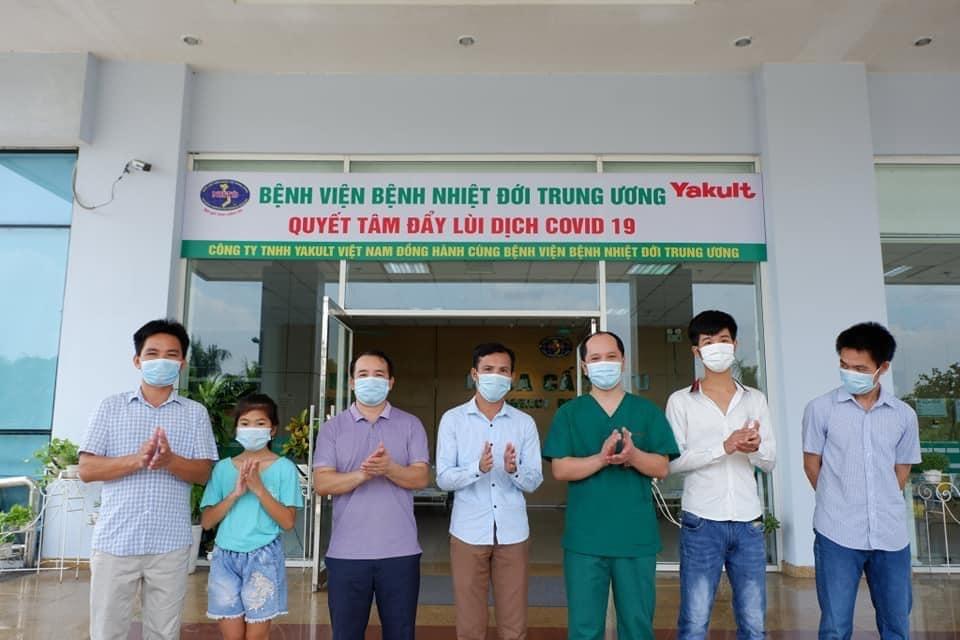 10 bệnh nhân mắc Covid-19 được công bố khỏi bệnh