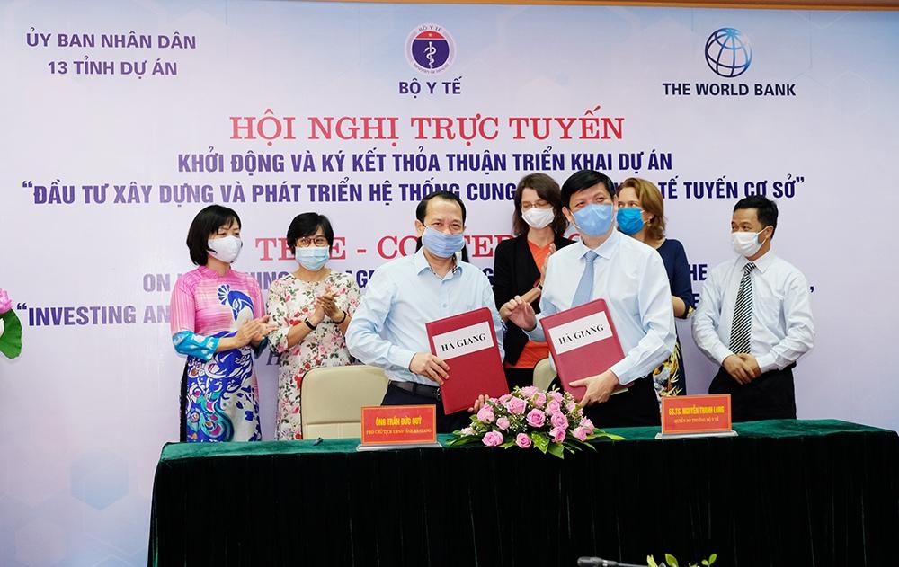 Đầu tư xây dựng và phát triển hệ thống y tế tuyến cơ sở tại 13 tỉnh