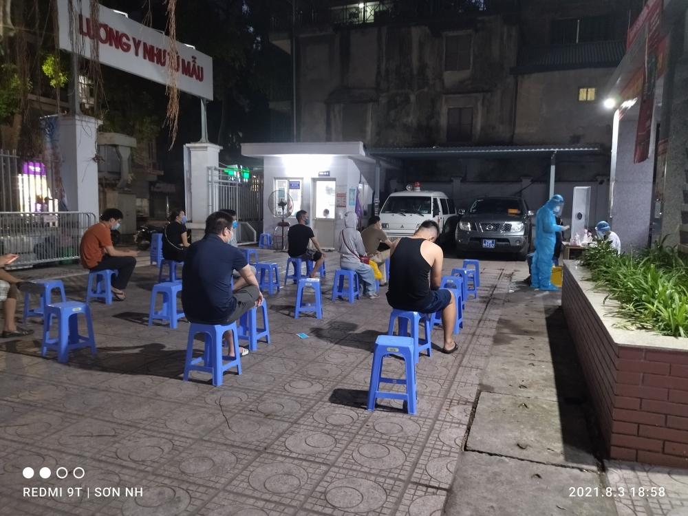 Ngày 5/8: Hà Nội ghi nhận 71 ca mắc Covid-19
