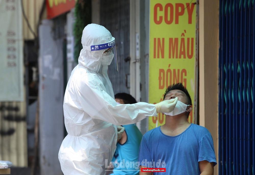 Sáng 14/8: Hà Nội có 2 ca mắc Covid-19 ở Ba Đình và Long Biên