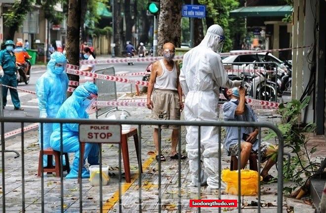 24 giờ qua, Hà Nội ghi nhận 133 ca nhiễm Covid-19