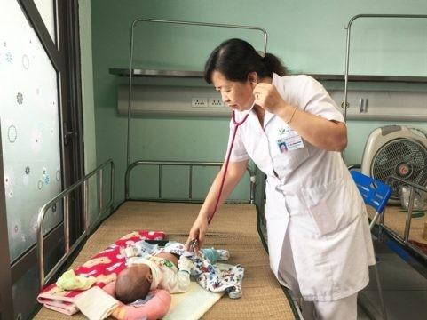 Gia tăng trẻ nhiễm vi rút hợp bào hô hấp