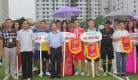54 đơn vị tranh tài giải bóng đá ngành Y tế Hà Nội năm 2019