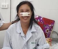Bệnh nhân whitmore tổn thương mũi đã được xuất viện