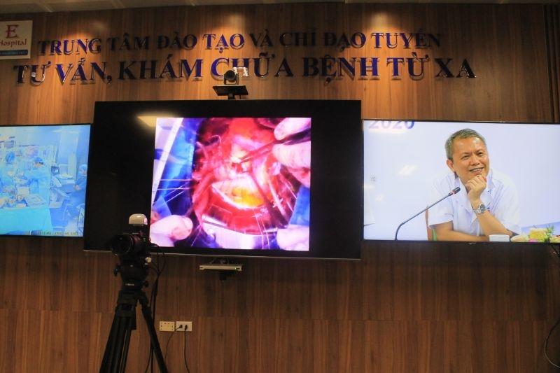 3 ca bệnh ở tuyến dưới được hội chẩn từ xa nhờ Telehealth