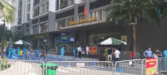 Ngày 2/9: Hà Nội thêm 39 ca Covid-19, riêng quận Thanh Xuân 20 ca