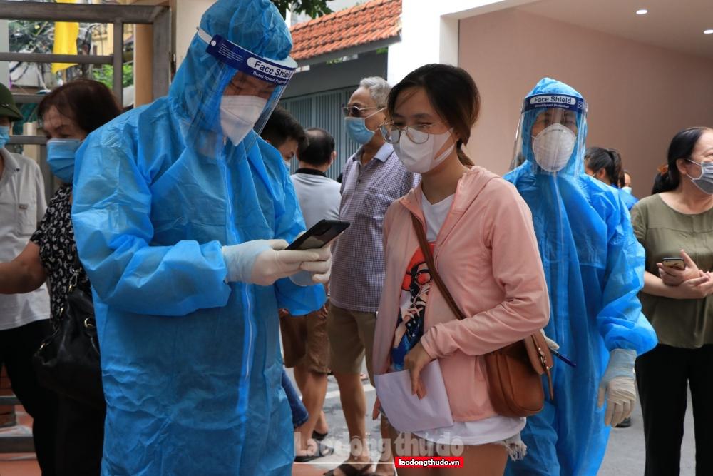 24 giờ qua Hà Nội ghi nhận 20 ca mắc Covid-19, trong đó có 4 ca tại cộng đồng
