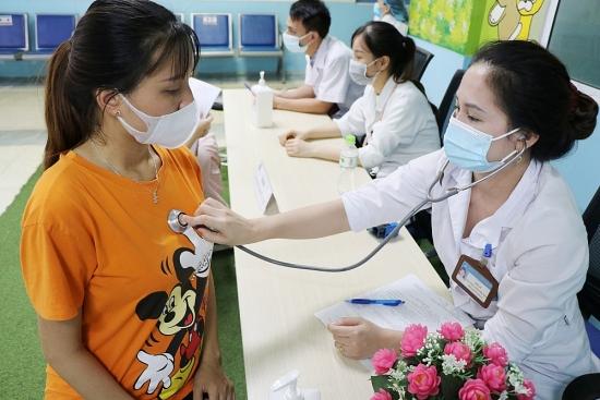 Bệnh viện Đa khoa Hà Đông:  Tiêm vắc xin phòng Covid-19 cho phụ nữ có thai