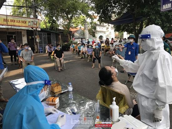 Sáng 22/9, Hà Nội ghi nhận thêm 1 ca mắc Covid-19 tại quận Thanh Xuân