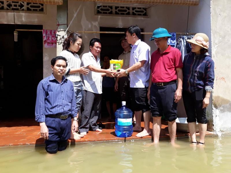 Đảm bảo công tác bảo quản và cung ứng thuốc phòng chống dịch và bão lụt