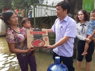 LĐLĐ huyện Chương Mỹ chung tay giúp đồng bào bị lũ lụt huyện nhà vượt qua khó khăn