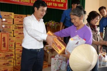 Hơn 1.000 suất quà hỗ trợ người dân Thanh Hóa bị ngập do lũ