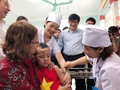 Sẽ tiêm bổ sung vắc xin sởi - rubella cho trẻ tại trường mầm non
