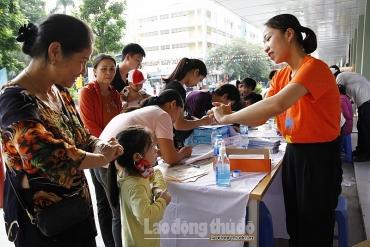Hà Nội đảm bảo cung ứng thuốc phòng chống bệnh tay chân miệng