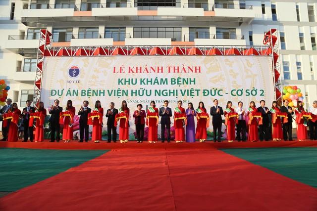 Khánh thành cơ sở 2 Bệnh viện Bạch Mai, Việt Đức tại Hà Nam
