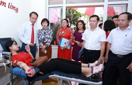 Hà Nộicó thêm điểm điểm hiến máu cố định thứ hai