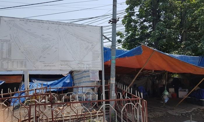 Cải tạo, nâng cấp chợ Cầu thị trấn Vân Đình