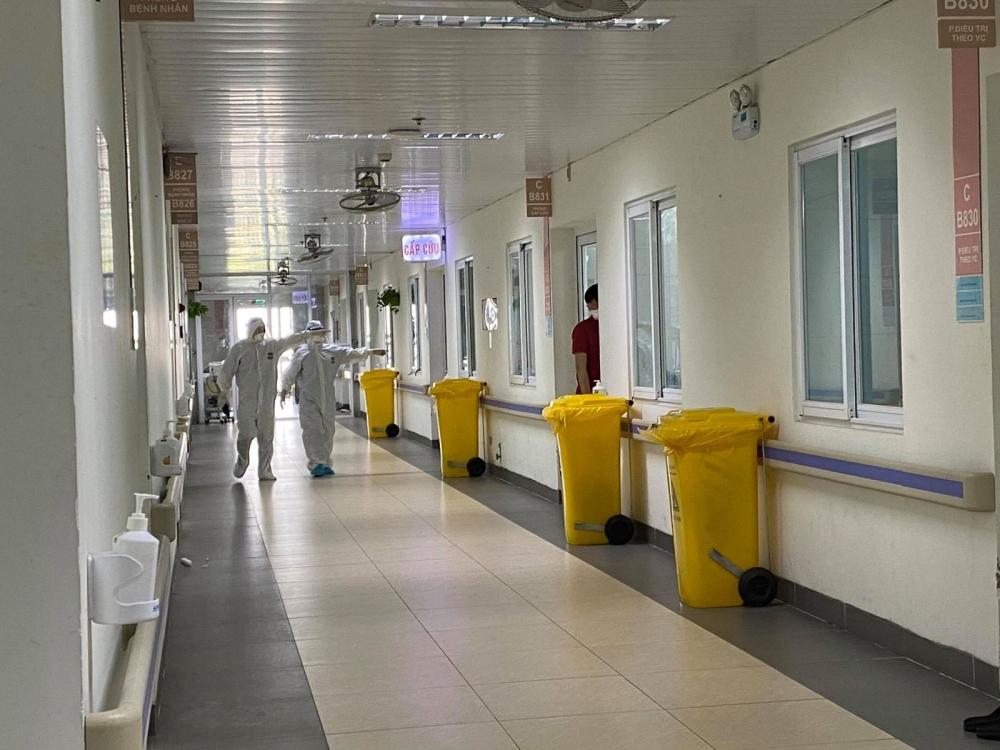 Ngày 11/10, Hà Nội ghi nhận 9 ca mắc Covid-19 liên quan Bệnh viện Việt Đức