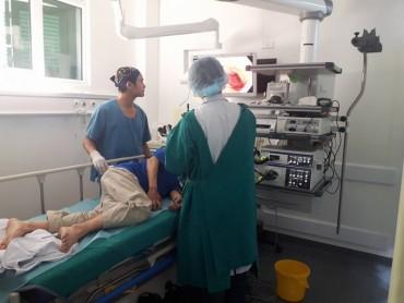 Bệnh viện Xanh Pôn: Tầm soát ung thư đại trực tràng miễn phí cho người dân