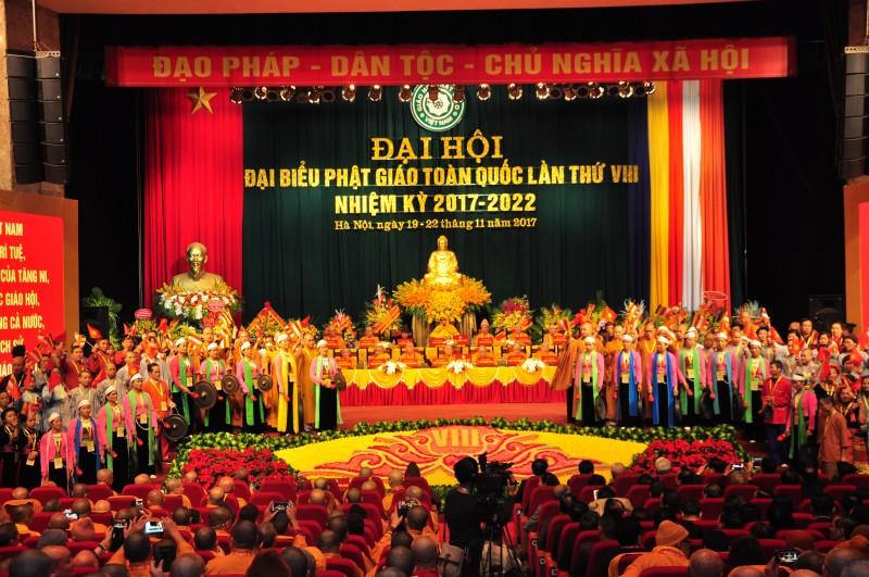 Khai mạc Đại hội Đại biểu Phật giáo toàn quốc lần thứ VIII nhiệm kỳ 2017 – 2022