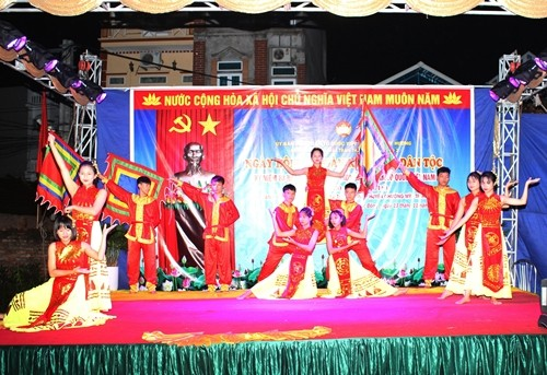 Ấm tình Ngày hội đại đoàn kết toàn dân tộc