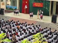 Nâng cao ý thức chấp hành Luật Giao thông cho các em học sinh