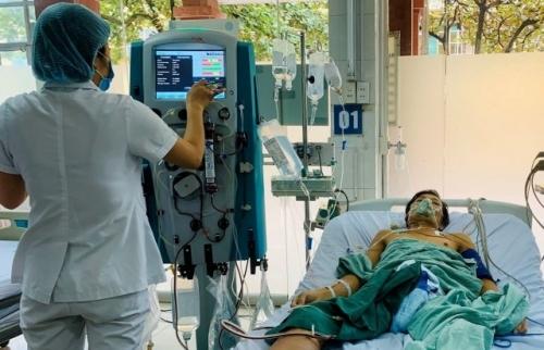 Cứu sống bệnh nhân suy đa tạng nhờ phương pháp lọc máu liên tục tĩnh mạch