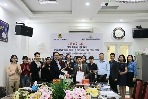 Công đoàn Y tế Việt Nam: Ký kết thỏa thuận hợp tác vì phúc lợi cho đoàn viên