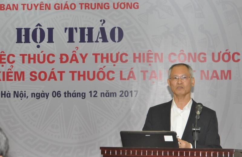 Báo chí góp phần thúc đẩy thực hiện Công ước quốc tế về kiểm soát thuốc lá tại Việt Nam