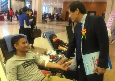 Khắc phục sự khan hiếm máu vào dịp Tết Nguyên đán 2018