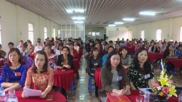 LĐLĐ huyện Ứng Hòa: Hoàn thành Đại hội Công đoàn cơ sở nhiệm kỳ 2017-2022