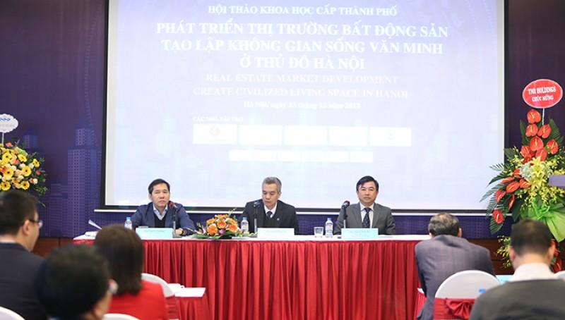 Phát triển thị trường Bất động sản: Tạo lập không gian sống văn minh ở Thủ đô Hà Nội