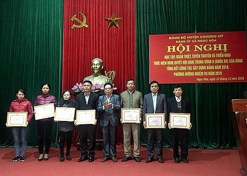 Ngọc Hòa: Tổ chức hội nghị học tập, quán triệt Nghị quyết Trung ương 8