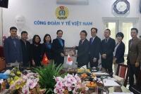 Công đoàn Y tế Việt Nam làm việc với Liên hiệp toàn quốc các Công đoàn Nhật Bản