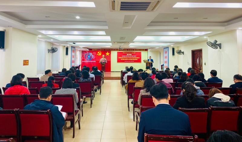 Công đoàn ngành Y tế Hà Nội: Giao ban công đoàn cơ sở quý IV
