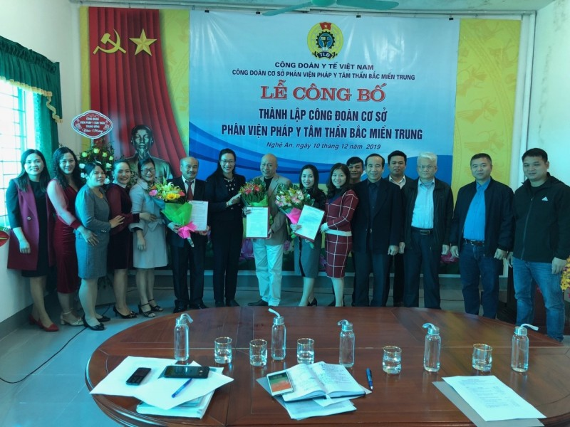 Công đoàn Y tế Việt Nam thành lập Công đoàn cơ sở thứ 107