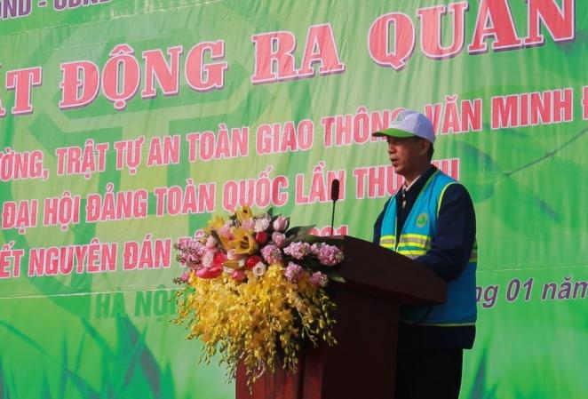 Quận Nam Từ Liêm: Ra quân đảm bảo an toàn giao thông, trật tự đô thị