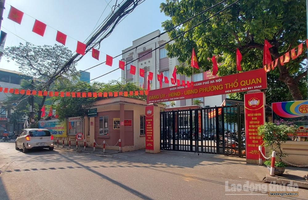 Hà Nội rực rỡ cờ hoa chào mừng Đại hội đại biểu toàn quốc lần thứ XIII của Đảng