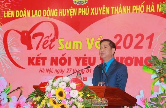 """Đầm ấm """"Tết sum vầy 2021 – Kết nối yêu thương"""" huyện Phú Xuyên"""
