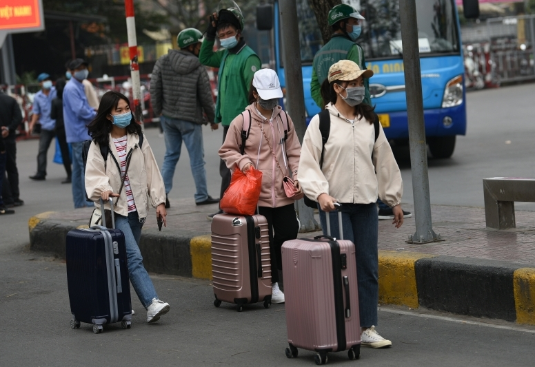Toàn bộ sinh viên quay trở lại Hà Nội học tập phải khai báo y tế bằng QR Code