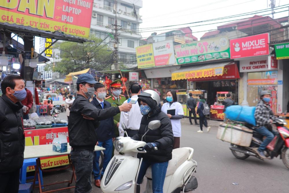 Tăng cường phòng, chống dịch tại các chợ đầu mối, chợ dân sinh