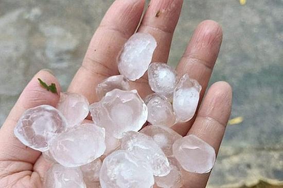 Miền Bắc có khả năng mưa đá trước Tết Nguyên đán