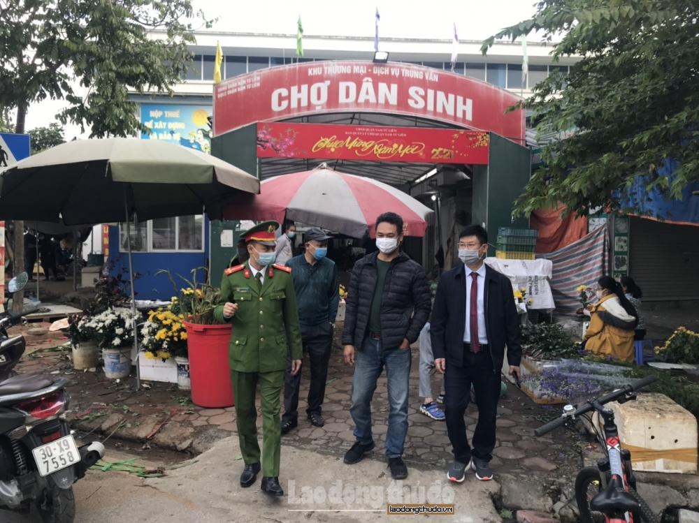 Tăng cường phòng cháy, chữa cháy và phòng dịch Covid-19 tại chợ dân sinh dịp Tết