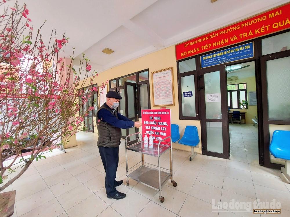 Người dân an tâm khi đến làm thủ tục hành chính tại bộ phận một cửa