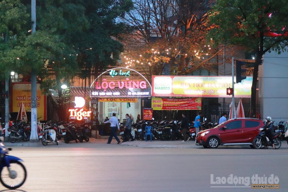 Hà Nội: Nhiều quán bia vi phạm quy định về phòng, chống dịch Covid-19