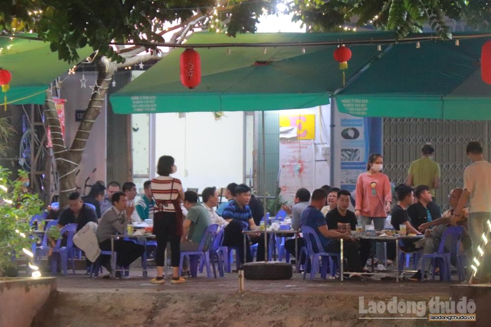 Hà Nội tạm dừng hoạt động các nhà hàng bia, quán bia hơi để phòng dịch